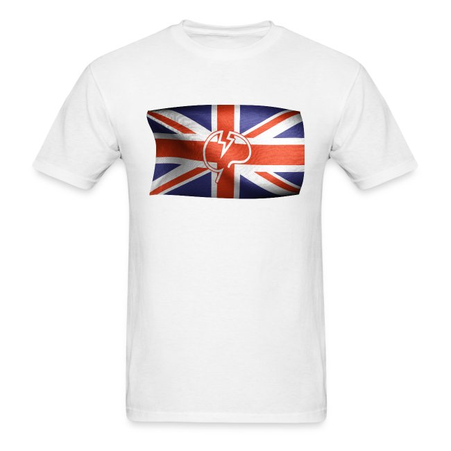 Men's Mindcrack Flying Mindcrack flag T-shirt