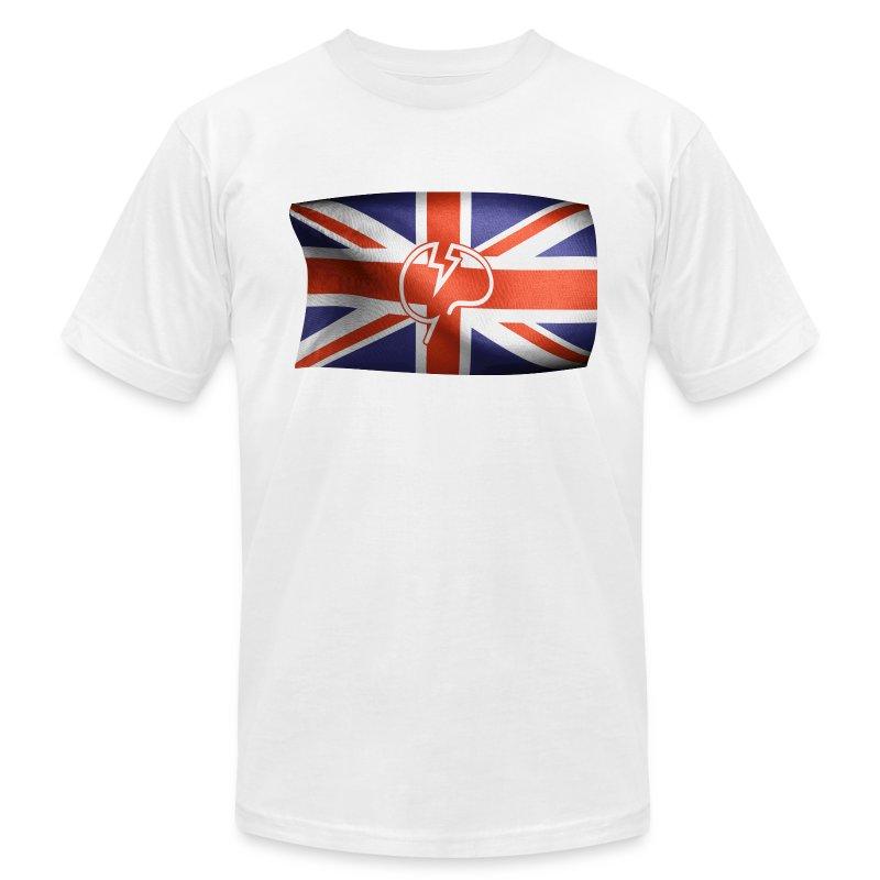 Men's Mindcrack Flying Mindcrack flag American Apparel T-shirt - Men's Fine Jersey T-Shirt