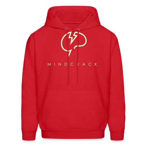 Men's Glow-in-the-dark Mindcrack logo Hoody - Men's Hoodie
