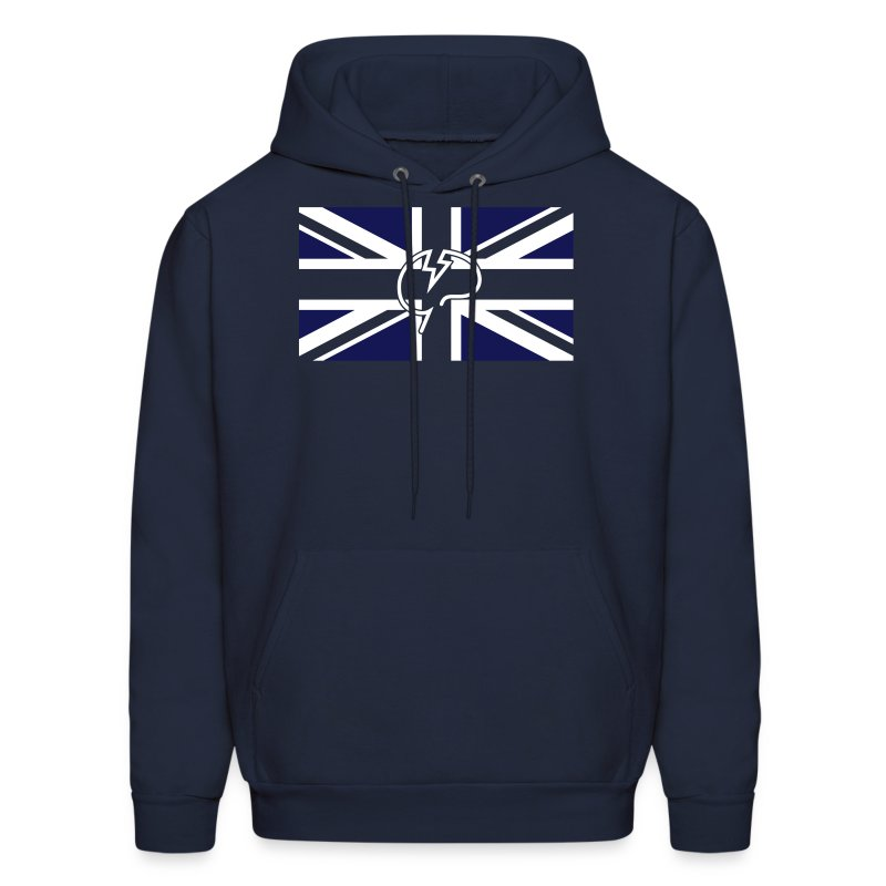 Mens Mindcrack Union Jack Hoody - Men's Hoodie