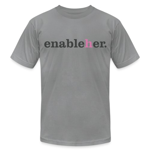 enableher for him t-shirt - Men's Fine Jersey T-Shirt