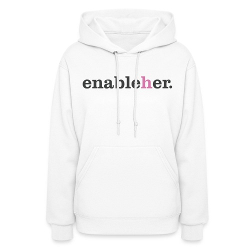 enableher for her sweatshirt - Women's Hoodie