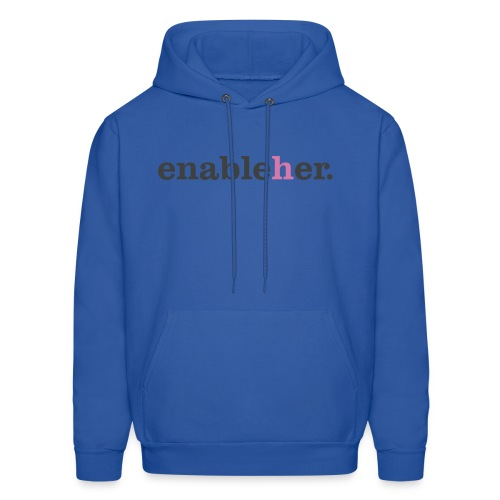enableher for him sweatshirt - Men's Hoodie