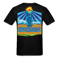T-Shirts ~ Men's T-Shirt ~ Lobster Sun King - on back