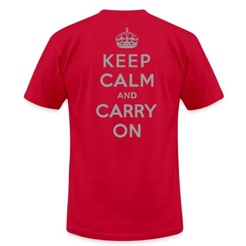 Men's Limited Edition Keep Calm - Men's Fine Jersey T-Shirt