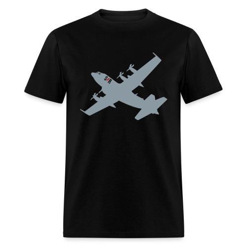 Large AC-130 Black - Men's T-Shirt