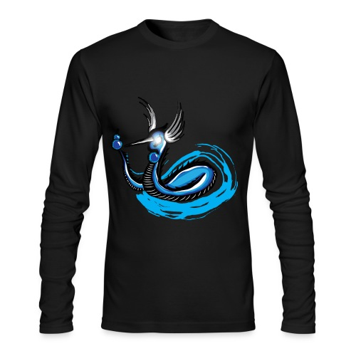Dark Dragonair long sleeve (mens) - Men's Long Sleeve T-Shirt by Next Level
