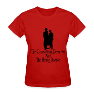 Women's T-Shirts ~ Women's T-Shirt ~ Consulting Detective and Army Doctor (Womens)