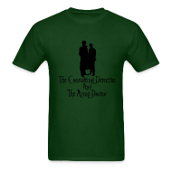 T-Shirts ~ Men's T-Shirt ~ Consulting Detective and Army Doctor (Mens)