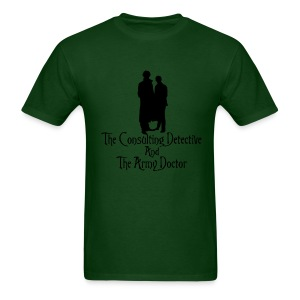 Consulting Detective and Army Doctor (Mens) - Men's T-Shirt