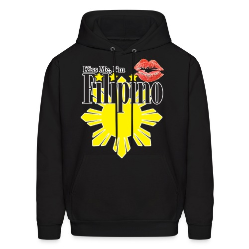 Kiss Me, Im Filipino - Men's Hoodie