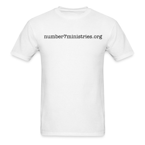 number7ministries.org  - Men's T-Shirt