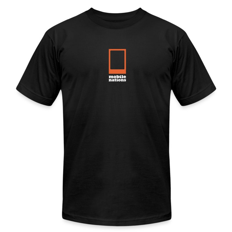 Mobile Nations  - Men's T-Shirt by American Apparel