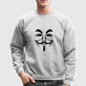 Anonymous Long Sleeve Shirts - Crewneck Sweatshirt
