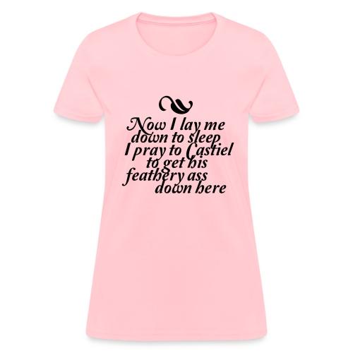 Women's Castiel's Prayer Tee - Women's T-Shirt