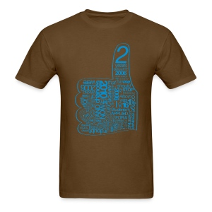 Haterz Word Art - Men's T-Shirt