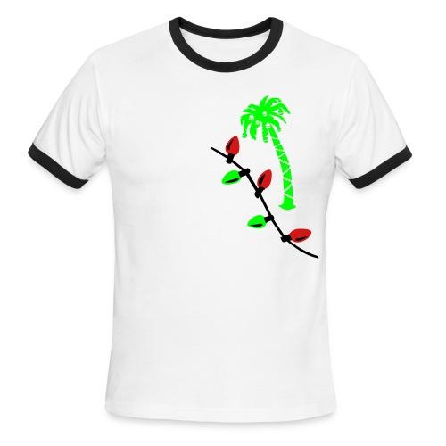 CHRISTMAS LIGHTS - Men's Ringer T-Shirt