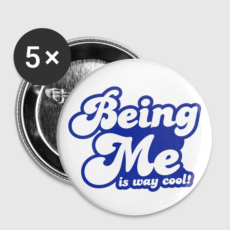 BEING ME is way cool Buttons - Large Buttons