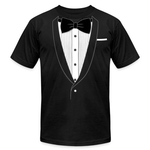 Men's Elite Edition Tuxedo T-Shirt - Men's Fine Jersey T-Shirt
