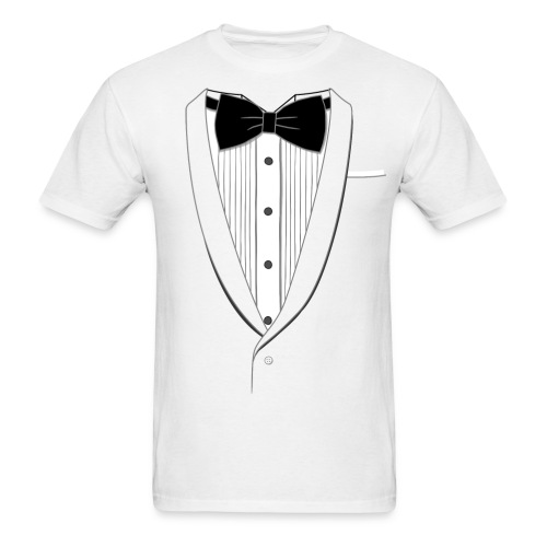 Men's Elite Edition Tuxedo T-Shirt - Men's T-Shirt