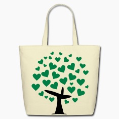 tree of heart Bags