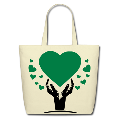 hand of love Bags