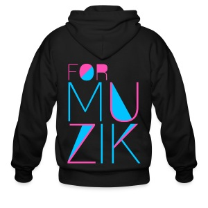 [4MIN] For Muzik - Men's Zip Hoodie