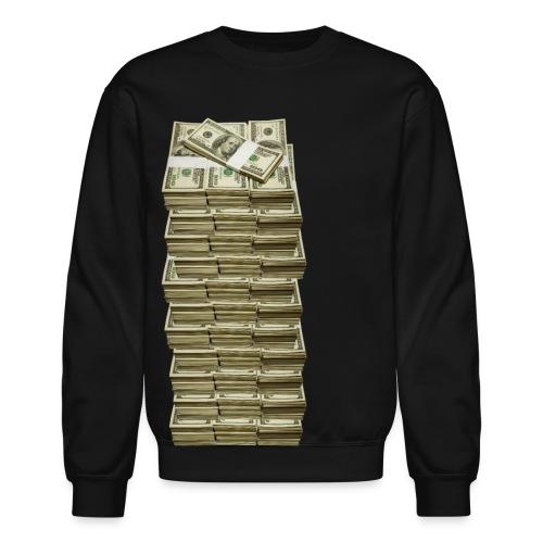 Money Stacks On Deck Crew Neck - Crewneck Sweatshirt