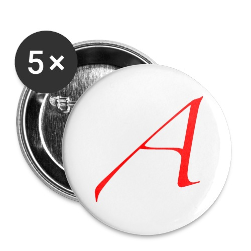 Scarlet Letter A Lg Buttons - Large Buttons