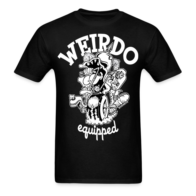 Men's Weirdo Equipped T Shirt - Men's T-Shirt