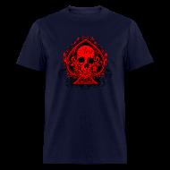 T-Shirts ~ Men's T-Shirt ~ Poker Skull - Shirt standard