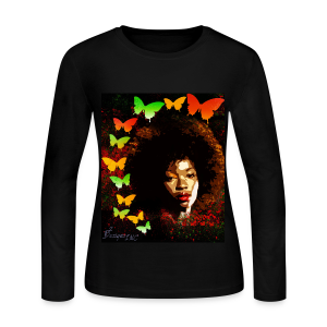 Lady's NATURAL BEAUTY GRAPHIC-TEE - Women's Long Sleeve Jersey T-Shirt