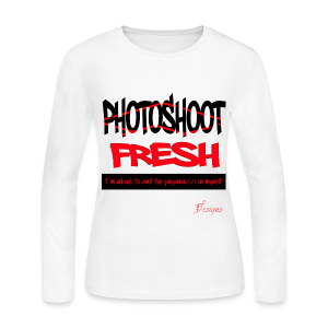 Lady's PHOTOSHOOT FRESH - Women's Long Sleeve Jersey T-Shirt