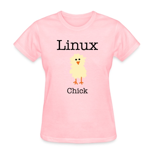 Linux Chick  - Women's T-Shirt