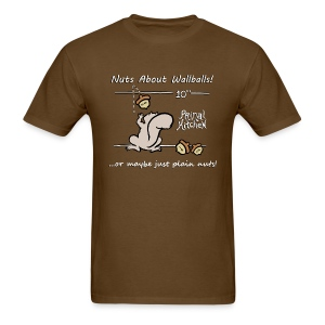 Paleo Men's Primal Kitchen Nuts About Wallballs Classic Shirt - Men's T-Shirt