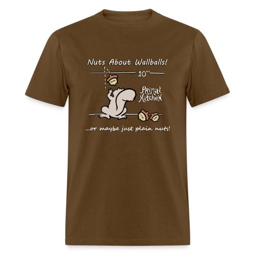 Paleo Men's Primal Kitchen Nuts About Wallballs Classic Shirt - Men's T-Shirt