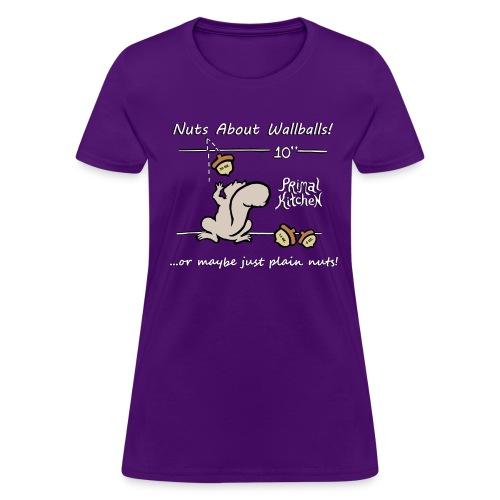 Paleo Women's Primal Kitchen Nuts About Wallballs Classic Shirt - Women's T-Shirt