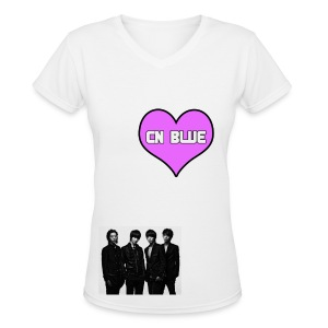 CNBLUE - Women's V-Neck T-Shirt