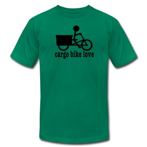 Madsen Cargo Bike Love - Men's Fine Jersey T-Shirt