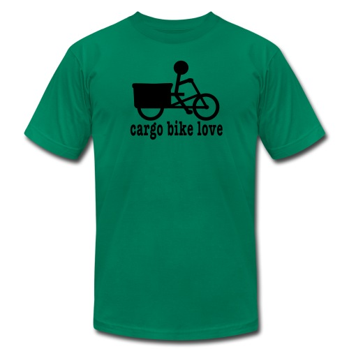 Madsen Cargo Bike Love - Men's Fine Jersey T-Shirt