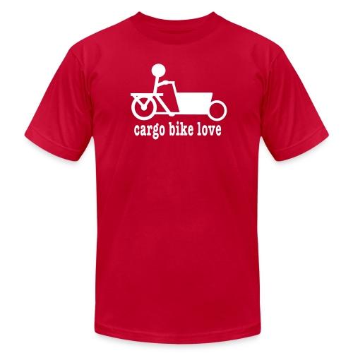 Bakfiets Cargo Bike Love - Men's Jersey T-Shirt