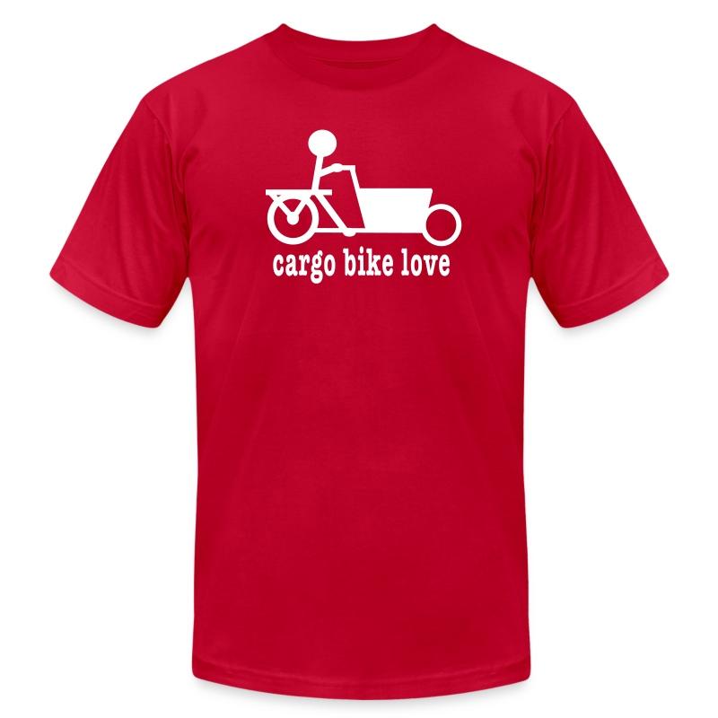 Bakfiets Cargo Bike Love - Men's Fine Jersey T-Shirt