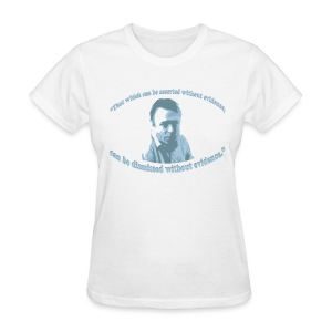 Christopher Hitchens t shirt - Women's T-Shirt