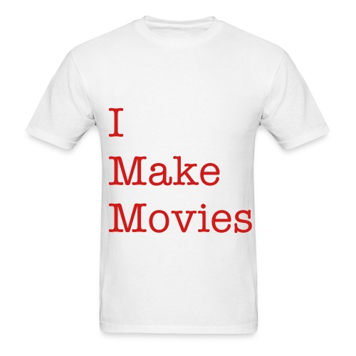 SOLFilms tI make movies - Men's T-Shirt
