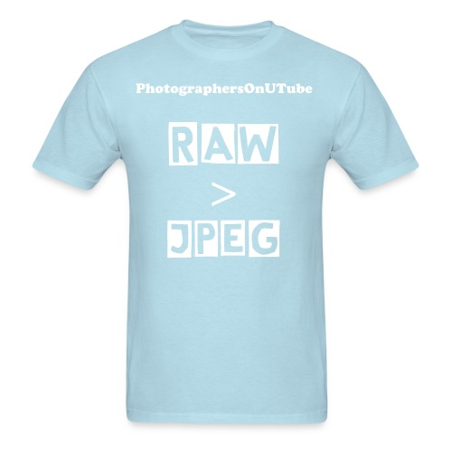 Men's RAW  JPEG - Men's T-Shirt