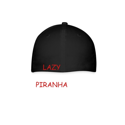 Lettering on Back Red - Baseball Cap