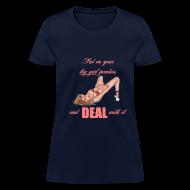 Women's T-Shirts ~ Women's T-Shirt ~ Big Girl Panties