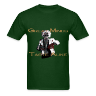 T-Shirts ~ Men's T-Shirt ~ Zombie Einstein