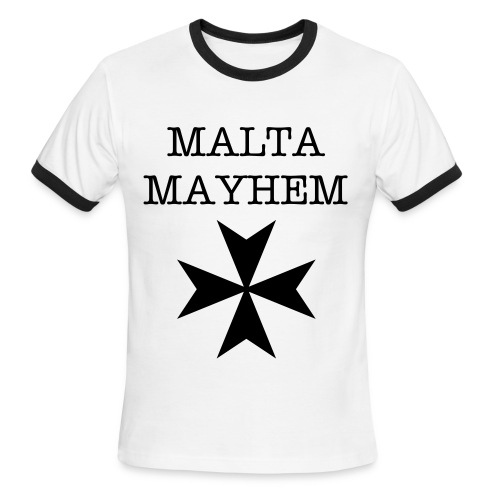 Malta Mayhem  - Men's Ringer T-Shirt
