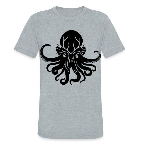 CTHULU VINTAGE AA TEE - Unisex Tri-Blend T-Shirt